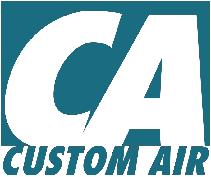 Custom Air Conditioning and Heating Co. Logo