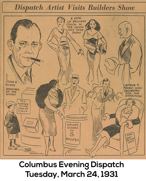 Image from Columbus Dispatch 1931